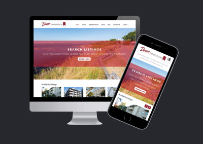Devon Properties. Website Design & Development.