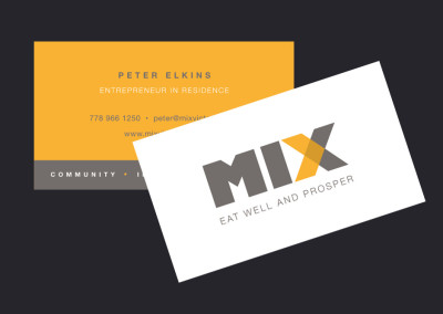 Mix Victoria. Brand Design. Business Card Design.